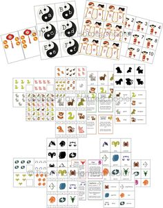 This unit pack includes the following printables for Chinese horoscope and zodiac signs:- Beginning sound word cards - Matching activity that consist of control cards, picture cards and labels- Silhouette matching - Memory Game Cards- Word cards for reading and spelling (or practice writing)- 1– 10