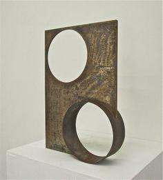 Welded Metal Art Sculptures | 1950s James Prestini Welded Metal Abstract Sculpture at 1stdibs