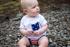 Patriotic T-shirt  Fourth of July Americana American Flag by SkuttleBum