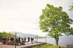 A beautiful day, and a beautiful wedding on the banks of Loch Lomond. The Cruin is such a great place to get married, quiet, lovely setting that looks amazing all year round.  #lochlomond #wedding #scotland #thecruin
