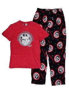 New Nwt Mens A Christmas Story Ralphie Christmas Pajamas Sleep Set Size  Medium  TurnerEntertainment   f3882b905