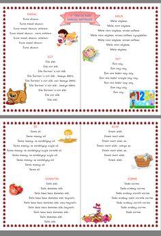 S sesi karesel Metinler  Çiğdem öğretmen Primary School, Health Care, Journal, Education, Math, Reading, Learn Turkish, Upper Elementary, Math Resources