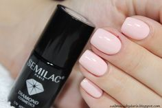 Stylizacja i Pielęgnacja Paznokci Naturalnych : Semilac 054 Pale Peach Glow ♥