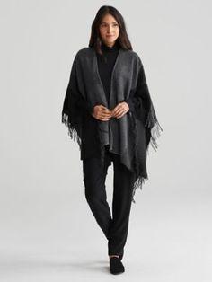 Color-Block Wool Serape-R7WHC-N1260