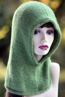 Balls to the Walls Knits: Friend of the Forest Hood  -  free pattern