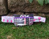 Insulin Pump Pouch - Pink Polka Dot Fabric cute on Etsy