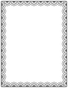 A black lace page border. Free downloads at http://pageborders.org/download/lace-border/