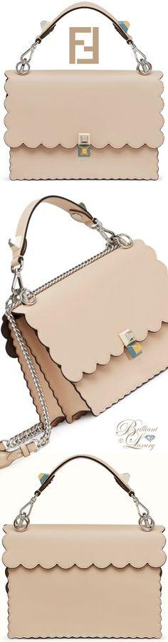 Brilliant Luxury by Emmy DE ♦ Fendi 'KAN I' Leather Bag