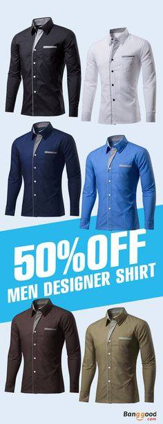 US$15.99+Free shipping. Men's Shirt, Fashion, Casual, 11 colors for your different occasion.Shop now!
