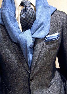 BURCU ARKUT: The Perfect Men Styles: Ice Ice Blue