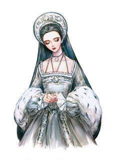 Beautiful Anime Girl, Anime Girl Cute, Rococo Fashion, Fashion Art, Colorful Drawings, Cute Drawings, Character Art, Character Design, Victorian Art