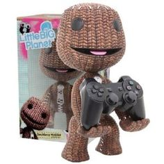 Little Big Planet - Sackboy Holder Figure. I WANT IT!!!!