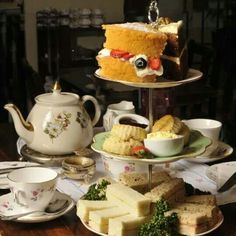A 1940s themed aternoon tea at Bea's Vintage Tearoom in Bath