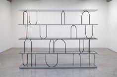 """Water Shelf"" Bookcase Design by Ignazio Gardella"