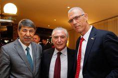 temer e embaixadores de palestina e israel