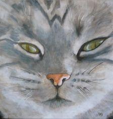 Desy Art Work, My Arts, Cats, Animals, Gatos, Animales, Work Of Art, Animaux, Art Pieces