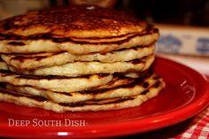 Deep South Dish: Made from Scratch Homemade Buttermilk Pancakes