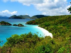 Una bahía en turquesa (Islas Vírgenes)