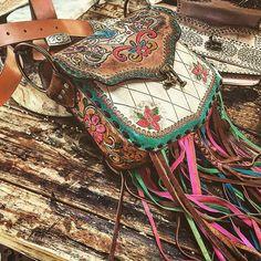 Indiawakanda fringe boho bag
