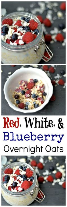 Kick off your 4th of July weekend with this super easy, kid-friendly, and nutritious breakfast!!