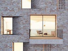 Fassadendetail, © steimle architekten