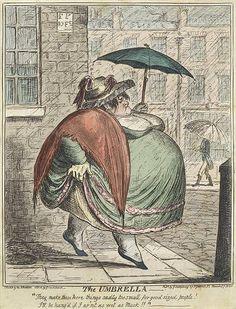 The Umbrella by George Cruikshank