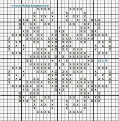 Cross Patterns, Counted Cross Stitch Patterns, Cross Stitch Designs, Hardanger Embroidery, Cross Stitch Embroidery, Fillet Crochet, Crochet Cross, Crochet Diagram, Fair Isle Knitting