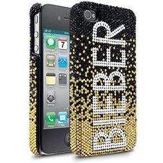 JB Gold Gradient Iphone 4 4/s Case By Justin Bieber:Amazon:Cell Phones & Accessories