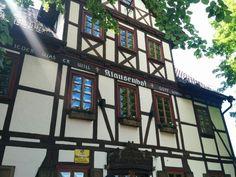 #Klausenhof - Das alte Wirtshaus unterhalb #Burg #Hanstein in #Bornhagen, Thüringen
