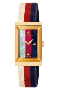 online shopping for Gucci G-Frame Nylon Strap Watch, x from top store. See new offer for Gucci G-Frame Nylon Strap Watch, x Gucci Watch, Swiss Made Watches, Family Jewels, Diamond Hoop Earrings, Anniversary Sale, 18k Rose Gold, House Colors, Women's Accessories