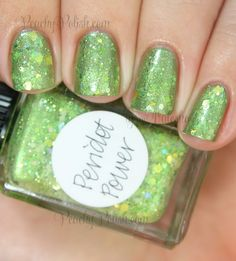Lynnderella Mondays! Peridot Power, Profiterole Play, Yes, I'm A Little Warm and Mixed Feelings Swatches and Review