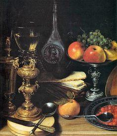 Georg Flegel (1566 -1638) German Still Life Painter ~ Blog of an Art Admirer