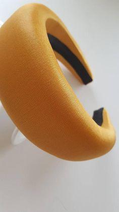 Halo Headband, Fascinator Headband, Wide Headband, Mono Formal, Wedding Hats, Party Wedding, Fabric Flower Brooch, Cocktail Hat, Fancy Hats