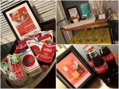 AMC's Mad Men Inspired Birthday Party! on http://pizzazzerie.com
