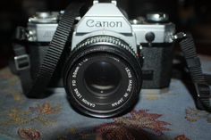 Cannon AE1 Camera with 50mm lens by AngelXDust on Etsy, $40.00