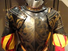 Armor for Papal Guard member, north Italy, 1570-1590 - Higgins Armory Museum