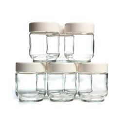 Glass Jars - Set of 8