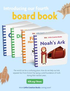In Noah's Ark, God uses a giant boat and a faithful man to help a group of people and animals escape the worldwide Flood. Just like the Ark saved them, Jesus. Institute For Creation Research, Research Publications, Facts For Kids, Preschool Books, Science Resources, Popular Books, Simple Words, Jesus Saves, Little Books