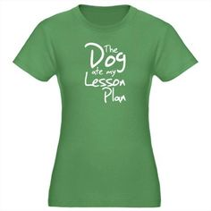 """""""the dog ate my lesson plan"""""""