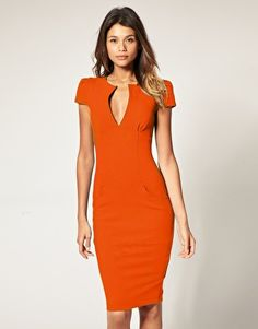 asos. have this in red, but i wish this had been available when i bought it! i love the orange