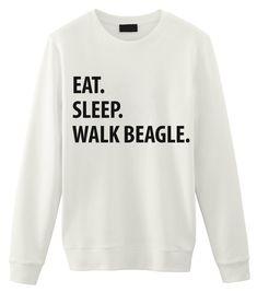 Beagle Sweater, Eat Sleep Walk Beagle shirt Mens Womens Gifts - 1177