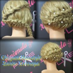 Chignon hairstyle for curly hair watch the step by step video tutorial
