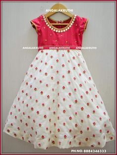 Kids party wear designs by Angalakruthi boutique Bangalore Kids Custom designs by Angalakruthi boutique Bangalore
