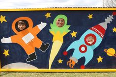 Astronaut / Outer Space Birthday Party Ideas | Photo 1 of 42 | Catch My Party