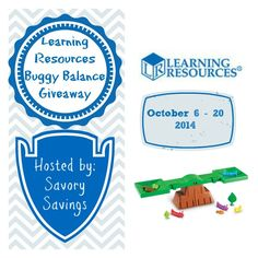 Learning Resources Giveaway – Parenting | Life Style | Reviews