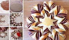 Pletený koláč ve tvaru hvězdy – názorný videorecept