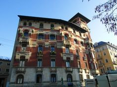 A beautiful old building in #Milan #Italy