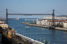 Puente Vizcaya. Vizcaya Bridge. Portugalete. Bizkaia. Basque Country