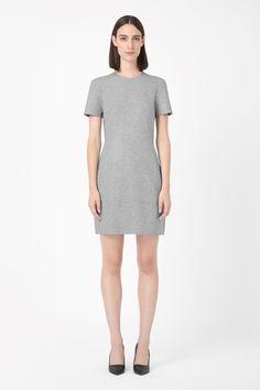 COS   Clean-edge jersey dress