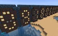 Compact 'Infinite' Counter Minecraft Bridges, Minecraft Redstone, Minecraft Creations, Minecraft Ideas, Infinite, Compact, Counter, Design, Infinity Symbol